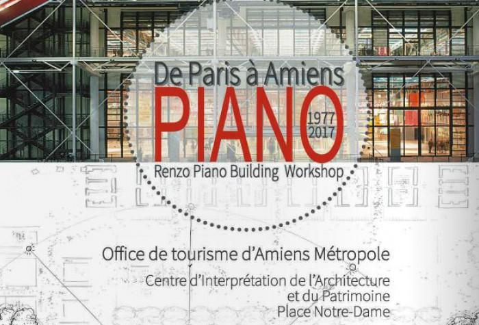 1977-2017 De Paris à Amiens : Renzo Piano Building Workshop
