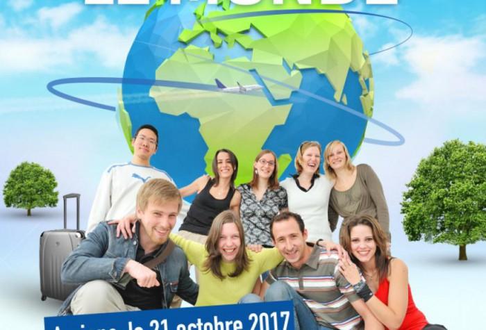 Cap sur le monde - 30 ans d'Erasmus+