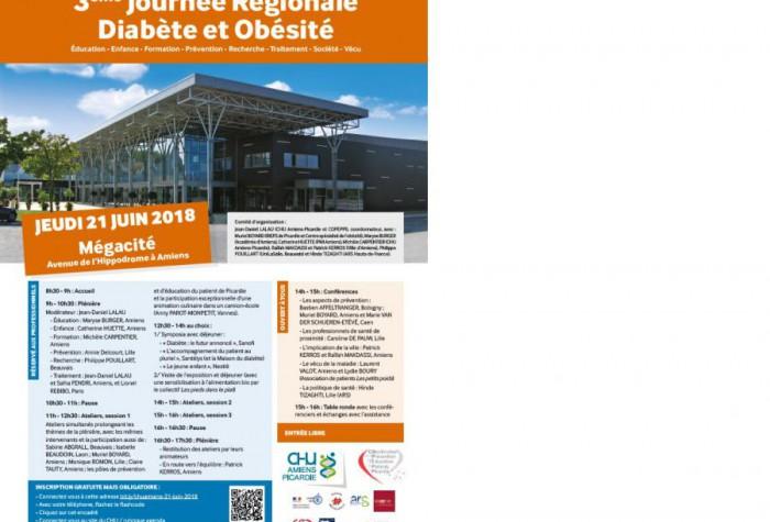 3ème Journée Régionale Diabète et Obésité