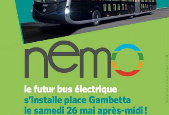 Présentation du futur bus électrique NEMO !