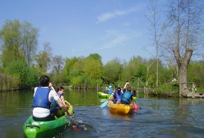 Visite patrimoniale des Hortillonnages en kayak