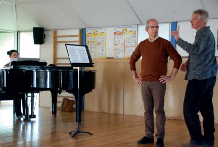 Concert de présentation de la master classe de Ronald Klekamp
