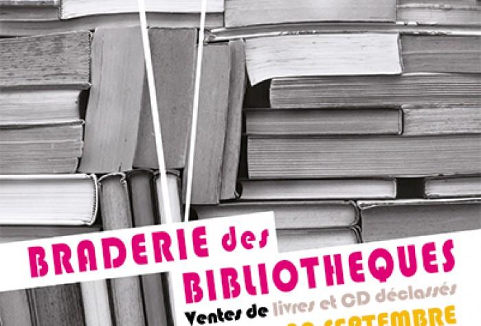 Braderie des Bibliothèques d'Amiens Métropole