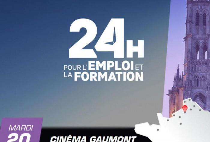 24H pour l'emploi et la formation