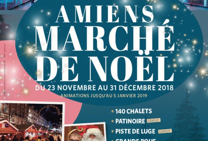 Amiens, le marché de Noël