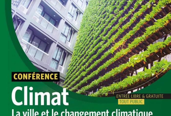 « La ville et le changement climatique »