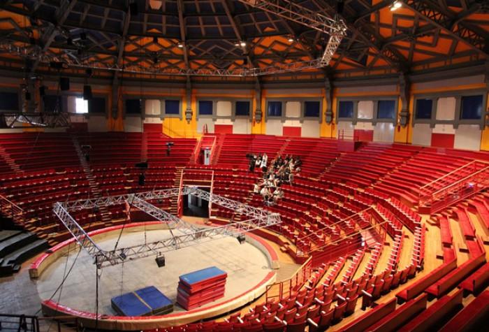 Visite à double voix du cirque Jules Verne