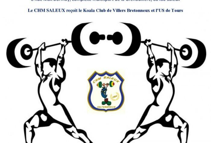 HALTEROPHILIE - CHAMPIONNAT DE FRANCE DES CLUBS NATIONALE 2 MASCULINE