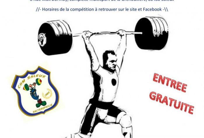 HALTEROPHILIE - CHAMPIONNAT DE FRANCE DES CLUBS NATIONALE 3 MASCULINE