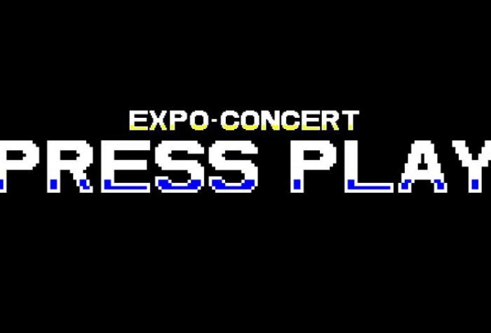 Expo-concert : Press Play