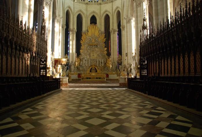 Visite du chœur de Notre-Dame