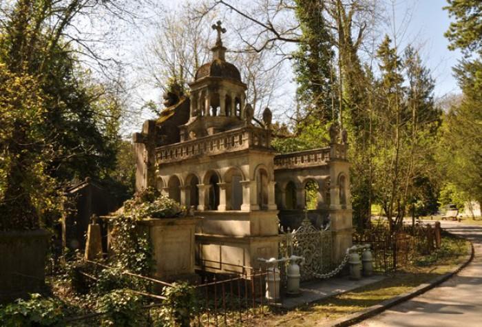 Visite du cimetière de la Madeleine