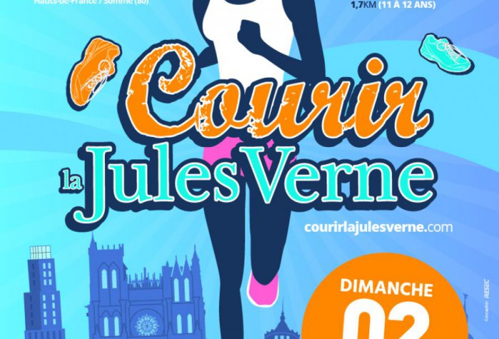 COURSE PEDESTRE - Courir La Jules Verne : 5 km + 10 km + Jeunes