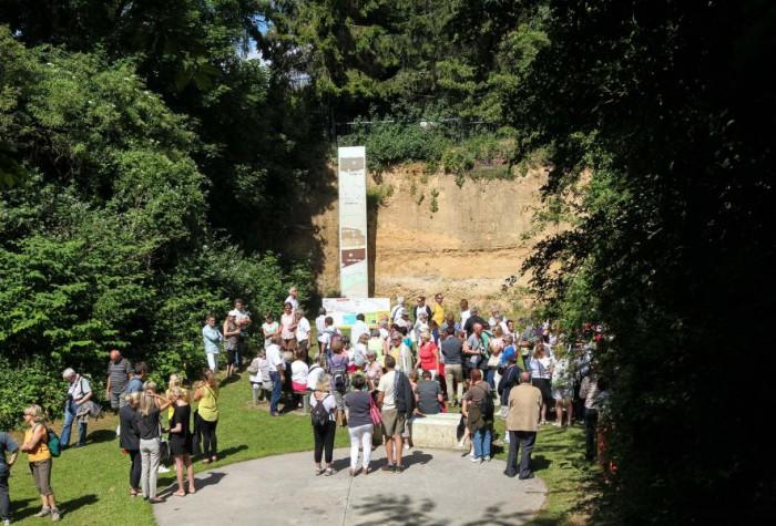 Le Jardin archéologique de Saint-Acheul