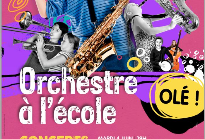 Concert Orchestre à l'école - Olé !