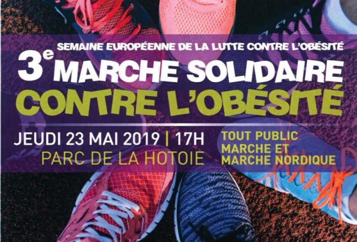 3ème marche solidaire contre l'obésité