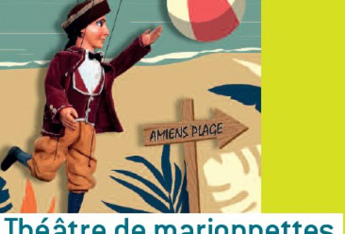 Programmation estivale du théâtre de marionnettes : chés cabotans d'Amiens
