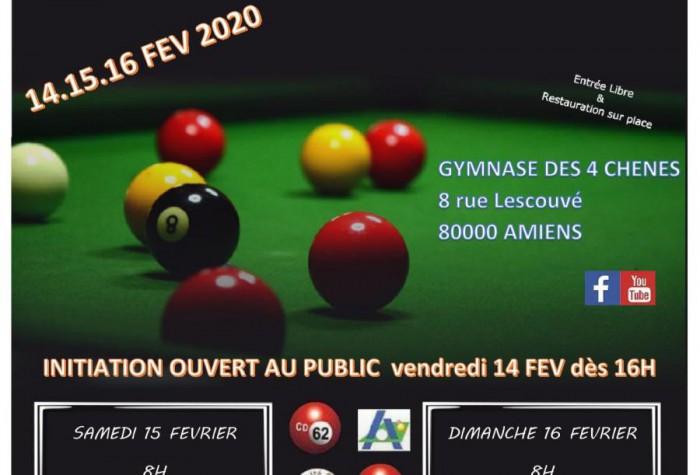 BILLARD BLACKBALL - Championnats des Hauts-de-France + Qualifications Coupe de France
