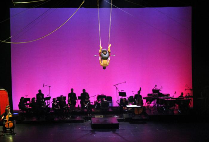 Cie Max & Maurice et l'Ensemble IMA - La musique de cirque, cela n'existe pas