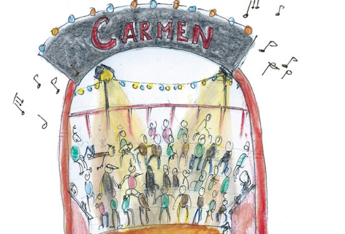 Attention Fragile et Ensemble Télématique - Carmen
