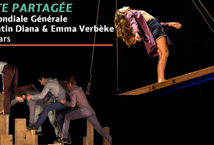 Piste Partagée : La Mondiale Générale et Corentin Diana & Emma Verbèke