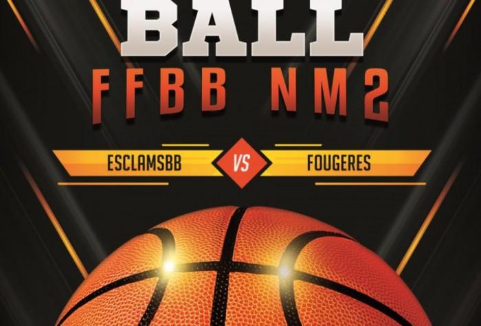 BASKET-BALL - Nationale 2 Masculine : LONGUEAU / FOUGERES
