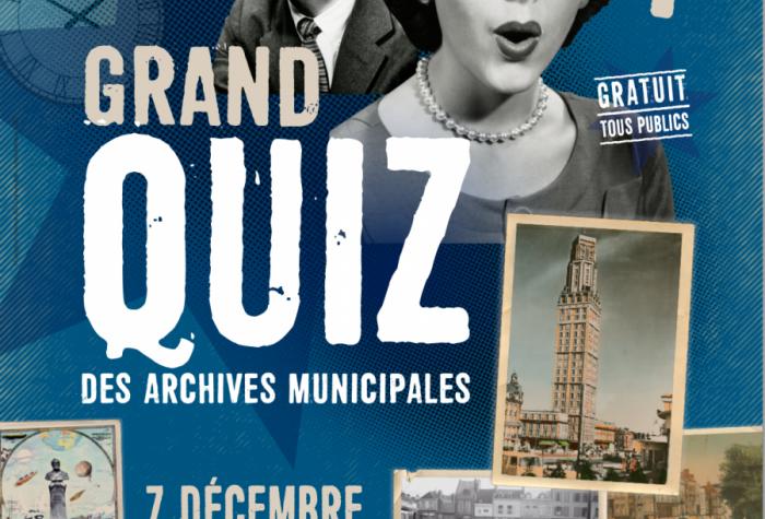 Grand Quiz des Archives municipales d'Amiens