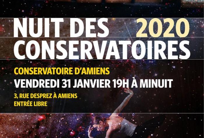 2ème Nuit des Conservatoires à Amiens