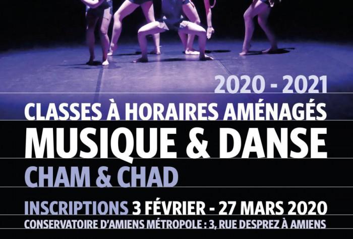 Classes à Horaires Aménagés Musique et Danse 2020-2021
