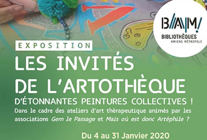 LES INVITÉS DE L' ARTOTHÈQUE | Exposition