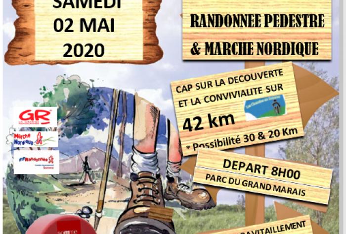 RANDONNÉE PÉDESTRE : Les Foulées Samariennes - 11ème Marathon pédestre