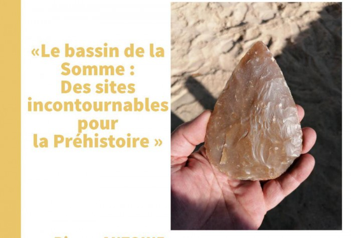 Conférence au Jardin Archéologique de Saint-Acheul