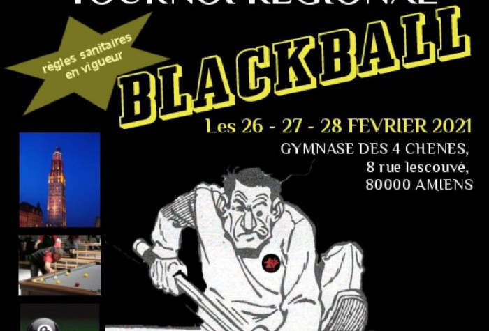 BILLARD BLACKBALL - Championnats des Hauts-de-France