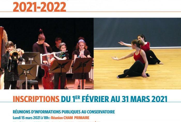 Classes à Horaires Aménagés Musique et Danse 2021-2022