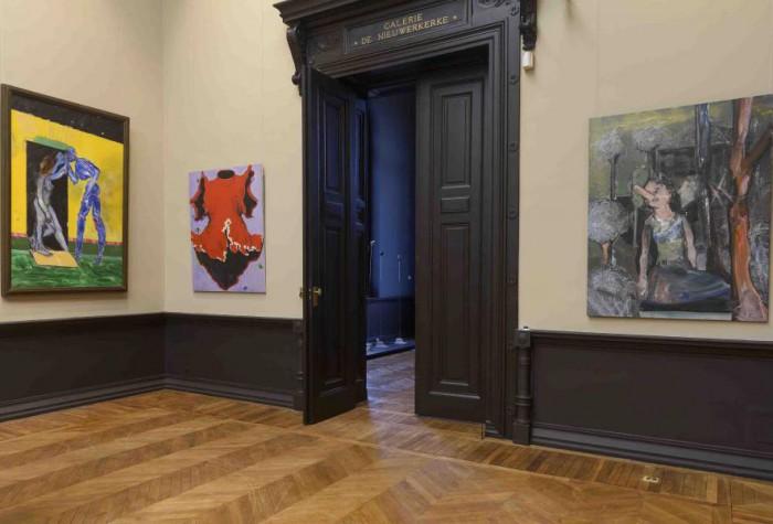 Visite du département d'art contemporain
